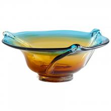 Cyan Designs 00557 - Sm Blue/orange Bowl