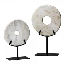 Cyan Designs 02308 - Sm. White Disk On Stand