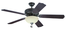 "Craftmade K11104 - Pro Builder 202 52"" Ceiling Fan Kit with Light Kit in Aged Bronze Textured"