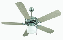 "Craftmade K11154 - Porch Fan 52"" Ceiling Fan Kit with Light Kit in Galvanized"