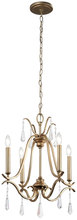 Minka-Lavery 4444-582 - 4 Light Chandelier