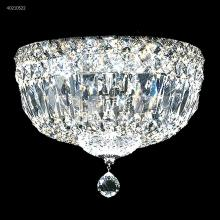 James R Moder 40210S22 - All Crystal Flush Mount