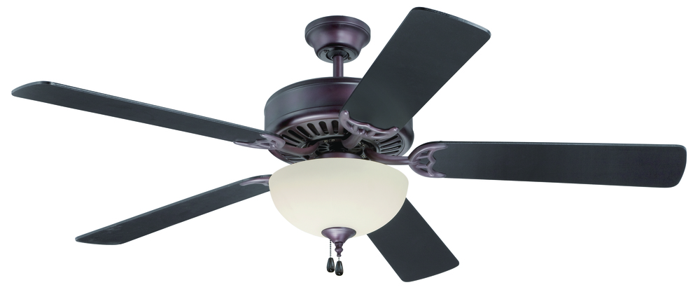 "Armstrong's in New Orleans, Louisiana, United States,  TAPL, Pro Builder 202 52"" Ceiling Fan Kit with Light Kit in Oiled Bronze, Pro Builder 202"