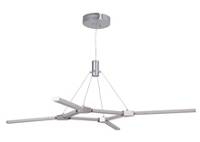 Craftmade 45628-CH-LED - Horizon 8 Arm LED Chandelier in Chrome