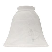 "Craftmade 635A - 2 1/4"" Fan Glass, Bell Shaped in Alabaster"