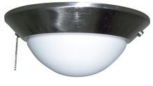Craftmade ELKD-10BNK - 1 Light Bowl Fan Light Kit in Brushed Polished Nickel with Frosted Opal Glass