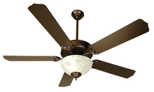 "Craftmade K10433 - Pro Builder 201 52"" Ceiling Fan Kit with Light Kit in Oiled Bronze"