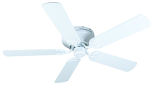 "Craftmade K10687 - Pro Contemporary Flushmount 52"" Ceiling Fan Kit in White"
