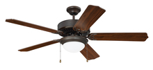 "Craftmade K11296 - Pro Energy Star 209 52"" Ceiling Fan Kit in Aged Bronze Brushed"