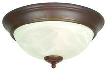 Craftmade X211-AG - 2 Light Flushmount in Aged Bronze