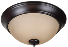 "Craftmade XP13OB-2A - Pro Builder 2 Light 13"" Flushmount in Oiled Bronze"