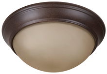 "Craftmade XPP11AG-2A - Pro Builder Premium 2 Light 11"" Flushmount in Aged Bronze Textured"