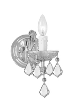 Crystorama 4471-CH-CL-MWP - Crystorama Maria Theresa 1 Light Clear Crystal Chrome Sconce I