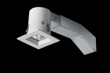 "RAB Lighting RDLED2S8-30Y-TW - REMODELER 2"" SQUARE 8W 3000K DIMMABLE TRIAC 30 DEGREES 1/2"" TRIM WHITE RING"