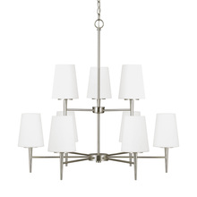 Sea Gull 3140409-962 - Nine Light Chandelier