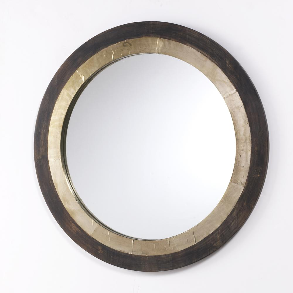 Armstrong's in New Orleans, Louisiana, United States,  9KKUG, Round Decorative Wooden Mirror,