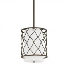 Capital 4831BB-614 - 2 Light Mini-Pendant