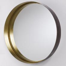 Capital 723302MM - Round Decorative Metal Frame Mirror