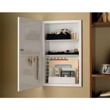 Broan-Nutone RSC2000N - Deluxe security cabinet , Recessed, 15-3/4 in.W x 26 in.H,24 in.  with keyed lock, key/jewelry rack,