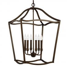 Feiss F2976/6PAGB - 6 - Light Foyer