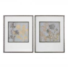 Uttermost 41562 - Uttermost Shadow Florals Prints S/2