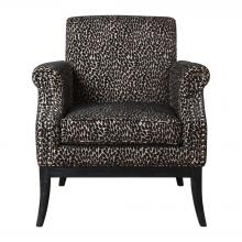 Uttermost 23422 - Uttermost Kaius Tan & Black Accent Chair