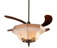 Fanimation FP815FS - AIR SHADOW FABRIC SHADE: OIL-RUBBED BRONZE