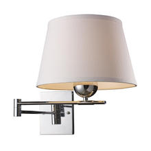 ELK Lighting 10106/1 - Lanza 1 Light Swing Arm Sconce In Polished Chrom