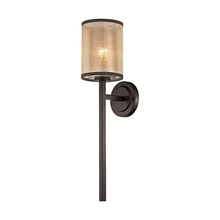 ELK Lighting 57023/1 - Diffusion 1 Light Wall Sconce In Oil Rubbed Bron
